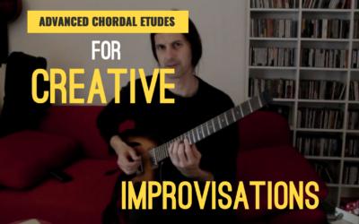 Chordal Etudes for Creative Improvisation