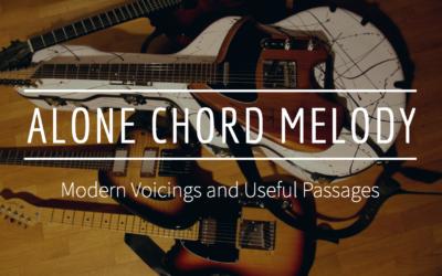 """""""Alone"""" Chord Melody Etude"""
