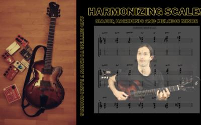 Harmonizing Scales (major, harmonic and melodic minor)