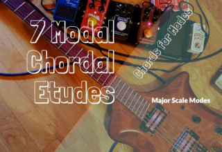 "Chords for Modes and ""7th Chordal Modal Etude"""