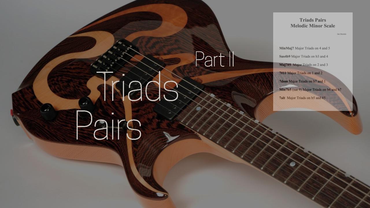 Triads pair ii (1)