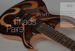 Triad Pairs (major scale) – Part I